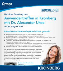 Anwendertreffen in Kronberg mit Dr. Alexander Uhse
