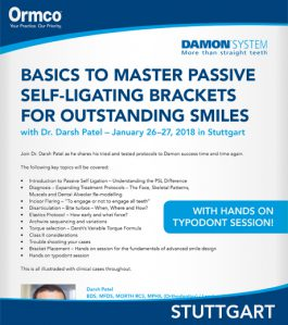 Basics to master passive self-ligating brackets for outstanding smiles