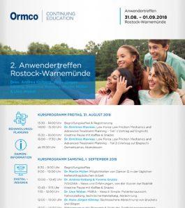 2. Anwendertreffen Rostock-Warnemünde